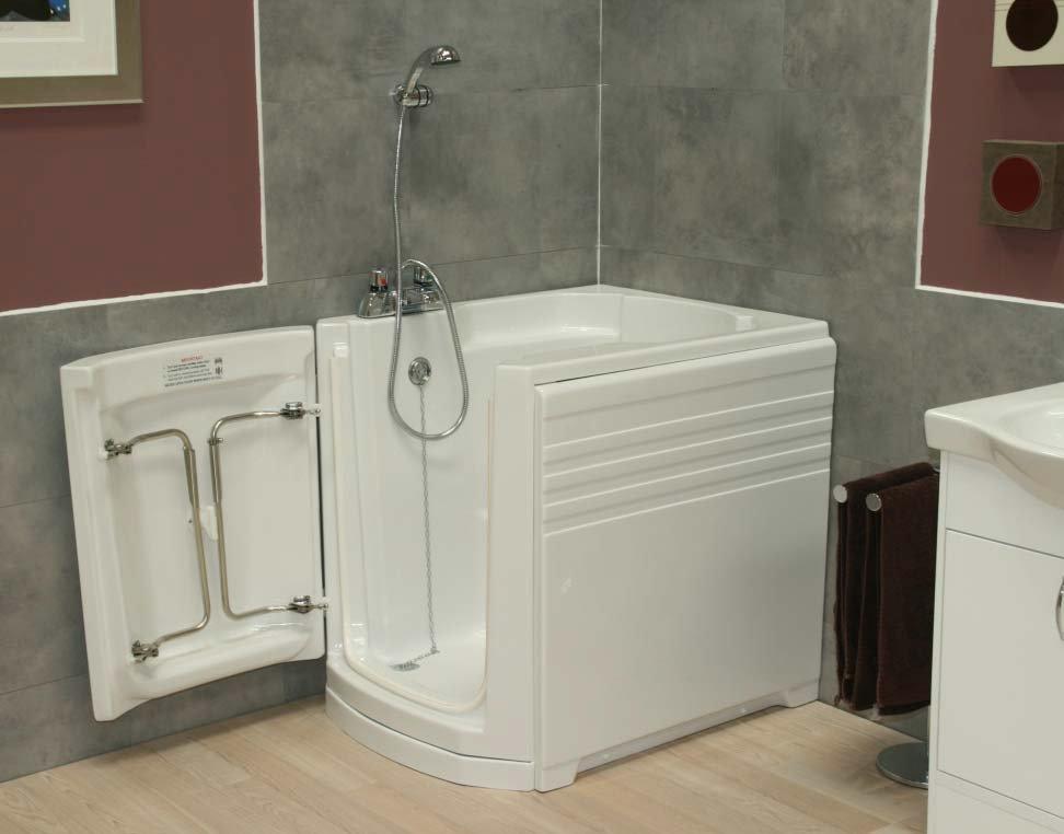 The ambiance walk in bath from essential bathing ltd for Bathroom bath