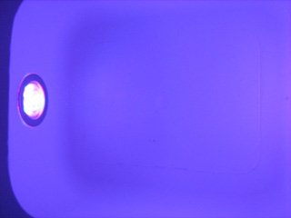 Bath Spa Lights Indigo Light Essential Bathing